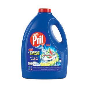 مایع ظرفشویی 4 لیتری با رایحه لیمو پریل |
